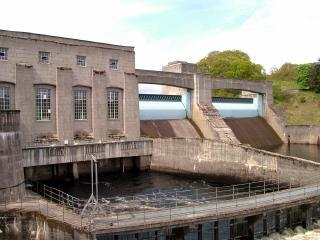 The Hydro Electric Power Station, Pitlochry, Scotland. - 20th September 2010.